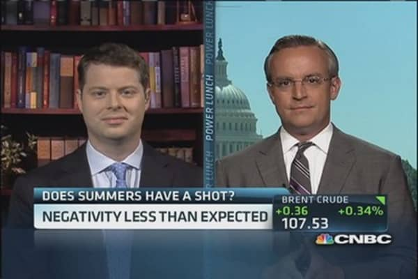 Next Fed chair: Summers or Yellen?
