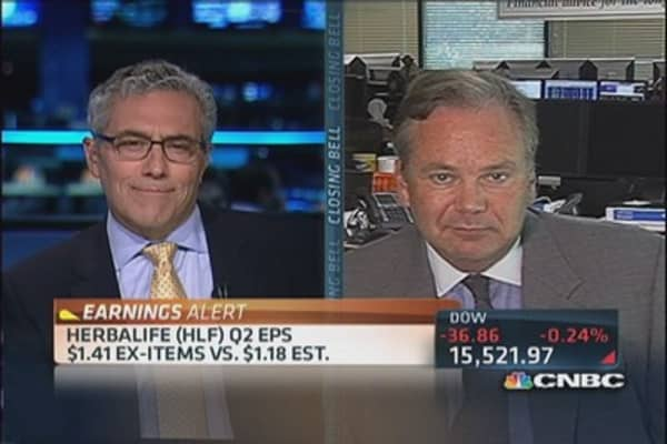 Herbalife Q2 earnings out