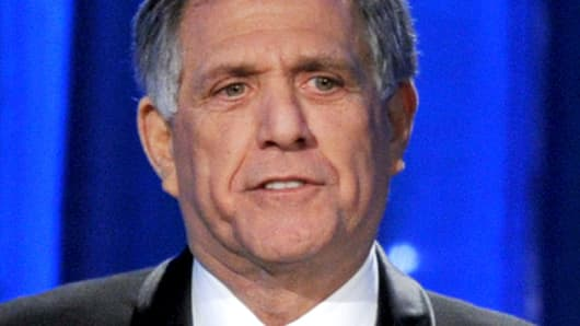 CBS Chief Executive Les Moonves