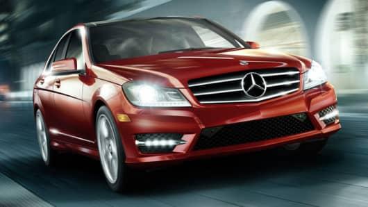 Mercedes Benz C-Class sedan