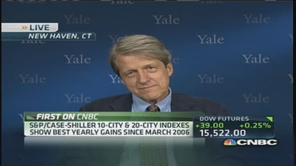 Case-Shiller Index shows best gains in 7 years