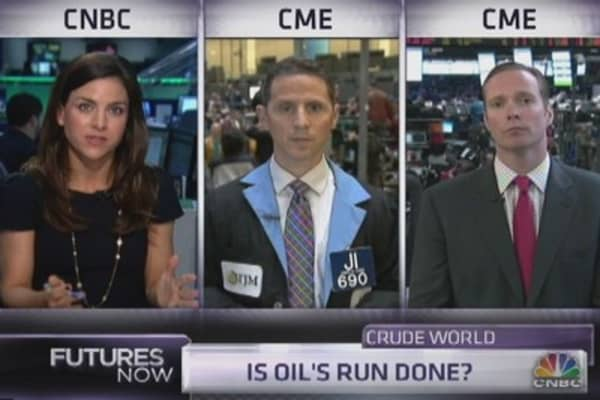 Crude will crumble: Trader