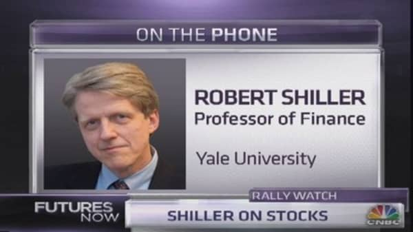 Shiller's take on stocks