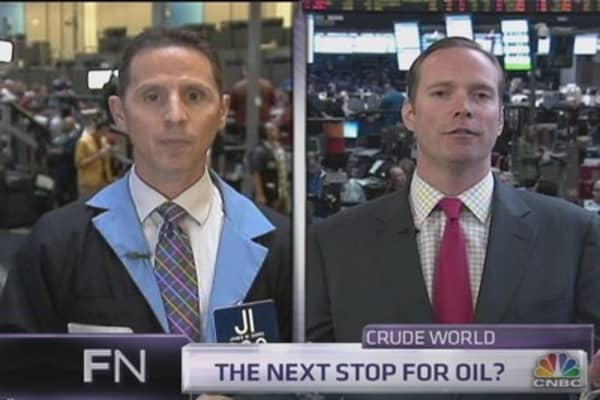 Traders feud on oil