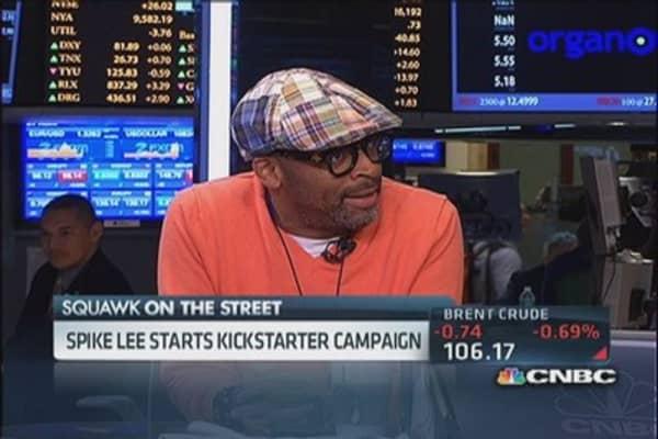 Spike Lee starts Kickstarter campaign