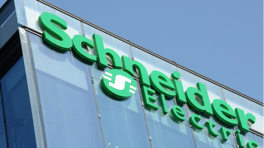 SCHNEIDER ELECTRIC EARNS
