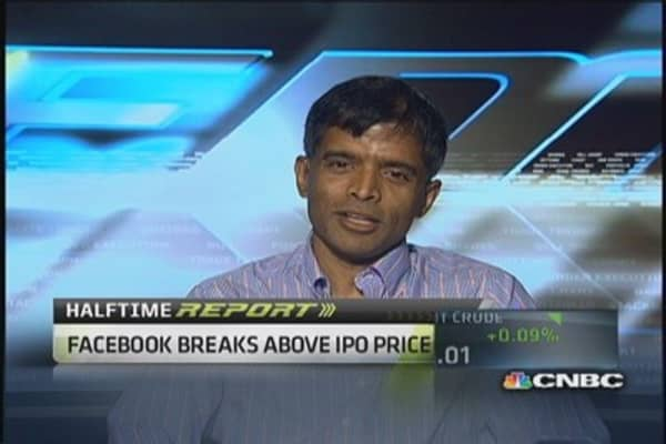 Facebook stock 'richly priced': Expert