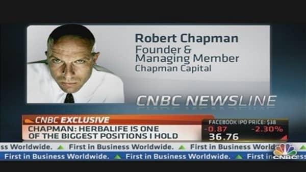 Herbalife's a $300 stock: Robert Chapman