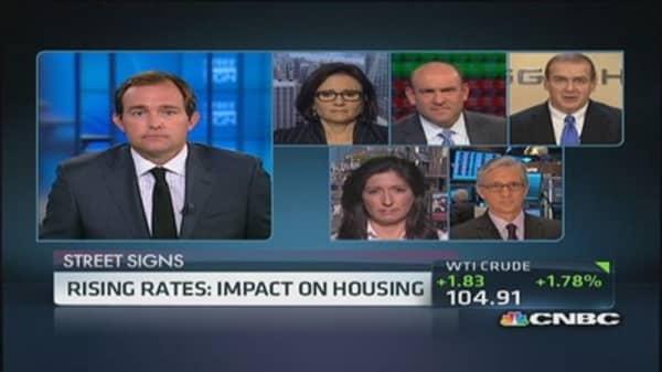 Rising rates: Impact on housing