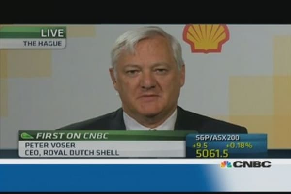 Royal Dutch Shell: Disappointed by earnings