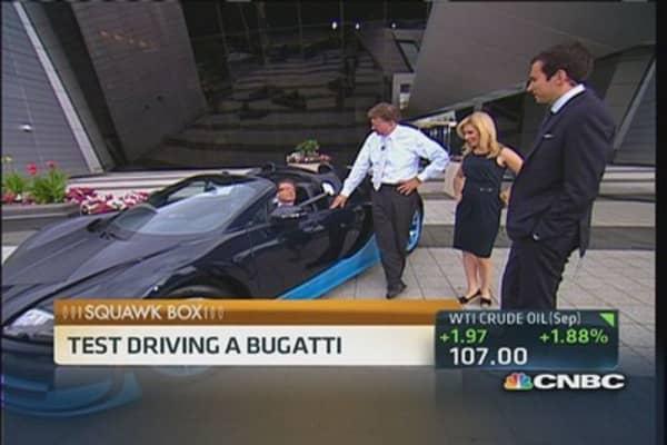 Bugatti Grand Sport Vitesse test drive