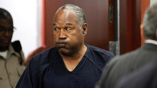 O.J. Simpson returning to the courtroom in Las Vegas.