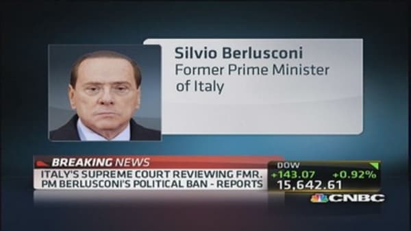 Italy confirms Belusconi's tax fraud conviction