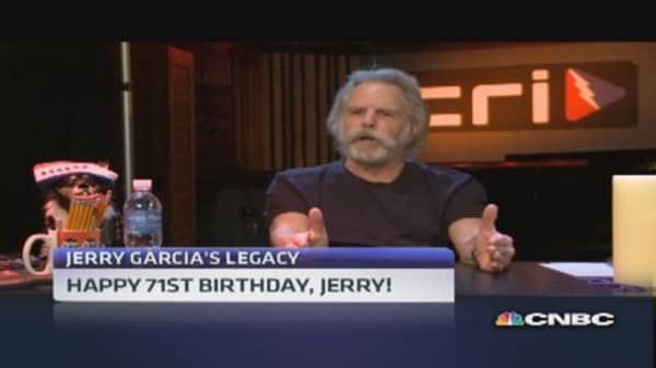 Remembering Jerry Garcia on his birthday