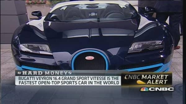 Inside the $2.5 million car