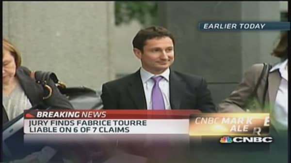 Jury finds Tourre liable for defrauding investors