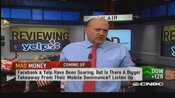Yelp beats estimates