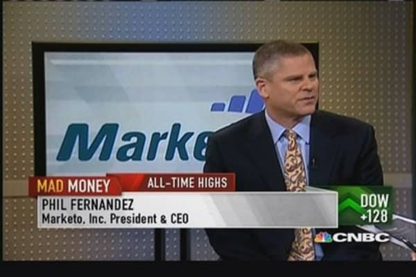 Marketo CEO: In early innings of business
