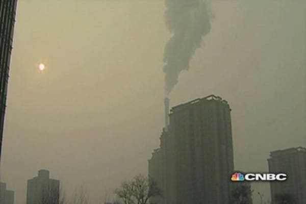 China's need for environmental change