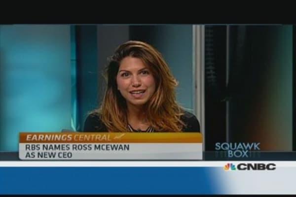 RBS names Ross McEwan as new CEO