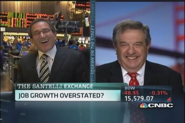 Santelli questions growth fairy tale
