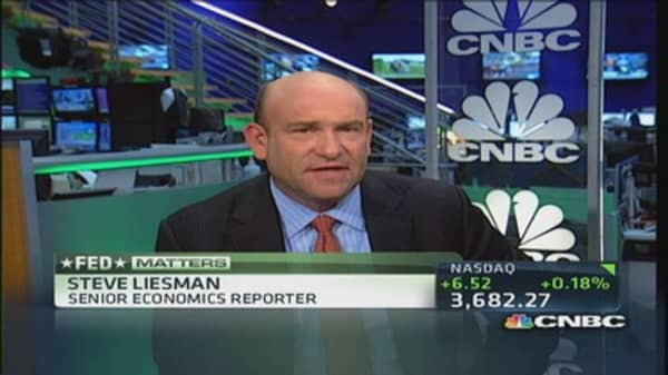 Companies doing more with less: Liesman