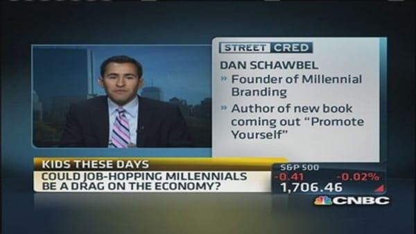 Millennial revolving door