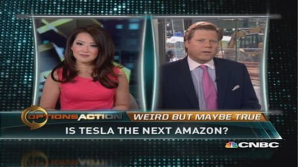 Is Tesla the next Amazon?