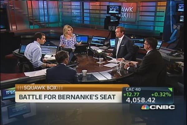 Summers vs. Yellen: Battle for Bernanke's seat