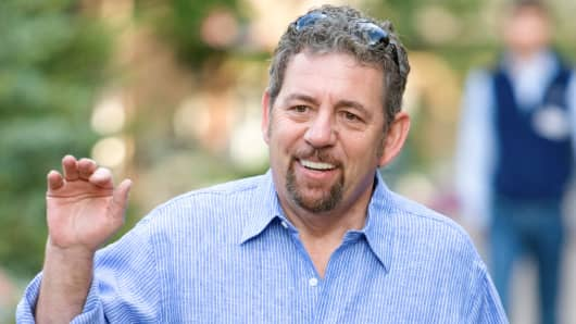 James Dolan, President and CEO of Cablevision.