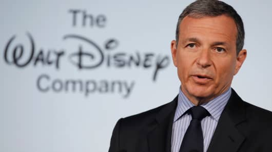 Walt Disney Company Chairman and CEO Robert Iger.