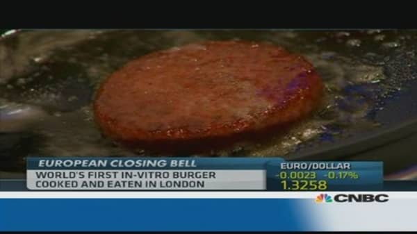 Test-tube burger anyone?