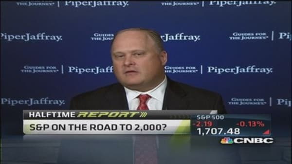 S&P on the road to 2,000: Strategist
