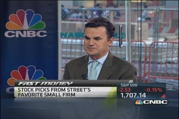 Stock tips from Street's fave small firm