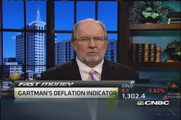 Gartman stays long equities