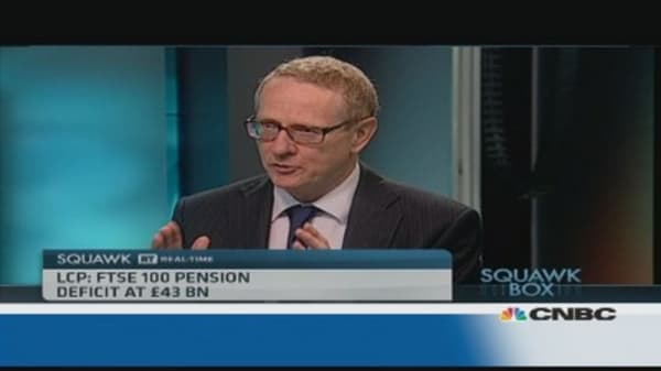 Pension funds won't run out of money: Pro