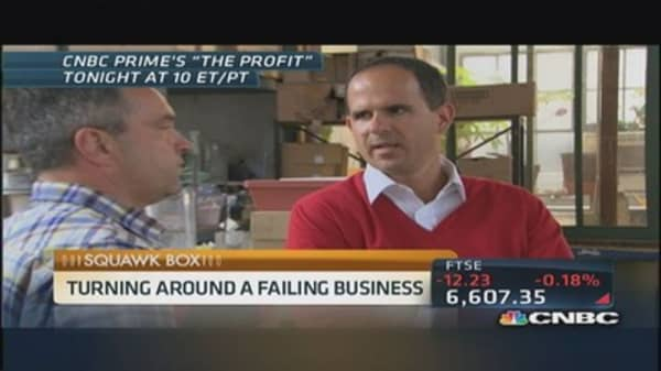 'The Profit': Turning around a failing business