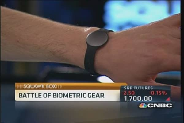 Misfit's 'Shine' enters biometric gear battle