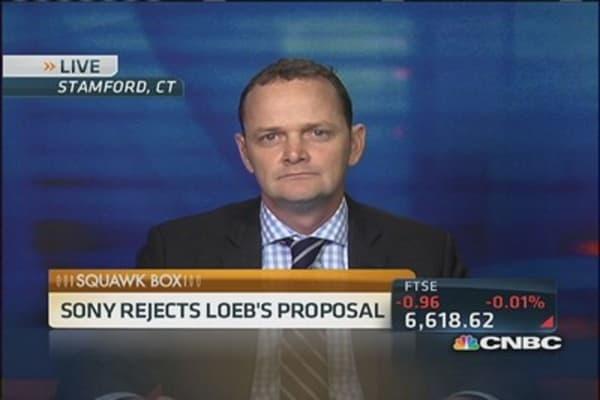 Sony rejects Dan Loeb's spinoff plan