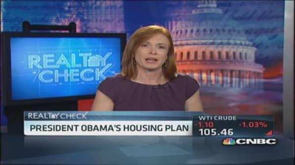 President Obama's housing plan