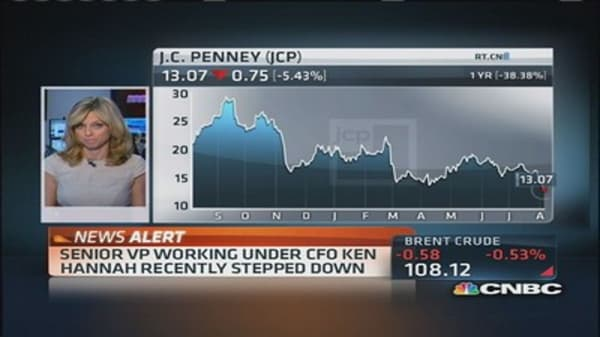 Big traders bet it will get even worse for JC Penney