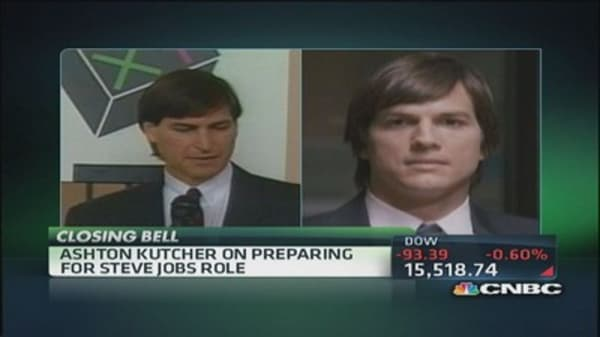 Ashton Kutcher on Steve Jobs, the person