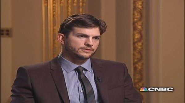 Kutcher: Steve Jobs & the big screen