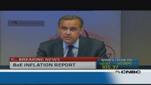 BoE's Carney: Renewed recovery underway