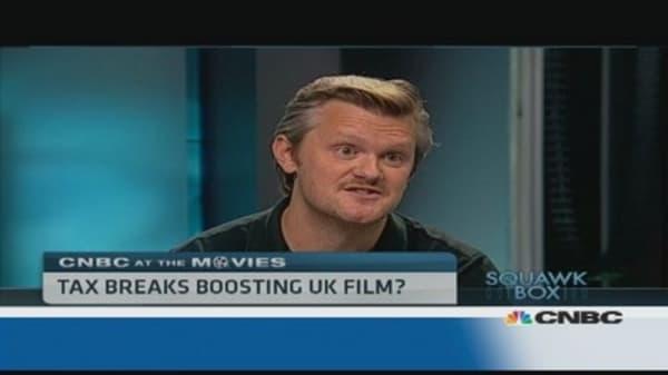 Are tax breaks boosting UK film?
