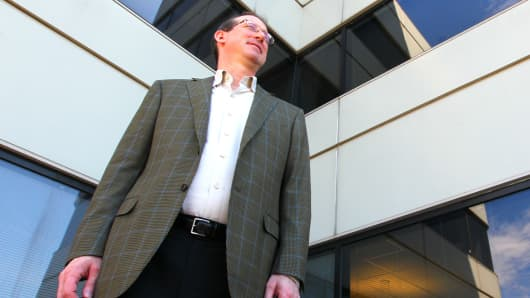 Gordon Coburn, president of Cognizant at the company's corporate headquarters in Teaneck, N.J.