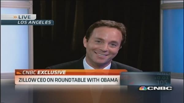 What Zillow CEO hopes to hear from President Obama