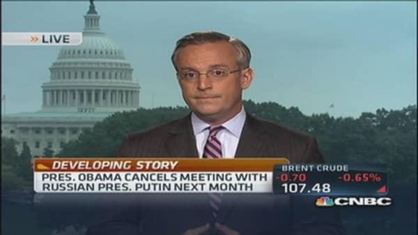 Obama cancels Putin but keeps G-20 meeting
