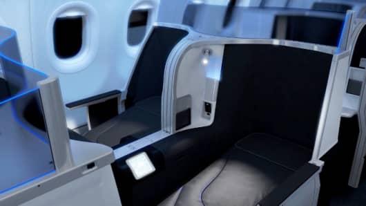 JETBLUE AIRWAYS LIE-FLAT SEAT