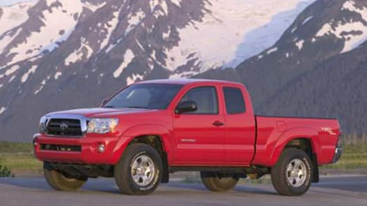 Toyota recalls over 340,000 compact Tacoma pickups